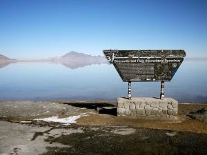 Bonneville Salt Flats Utah February 2013