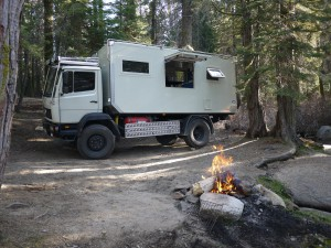 One of our favourite camp spots. Sequoia Nat. Forest May 2013