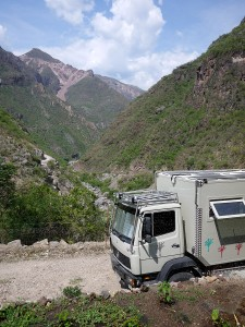 Campsite at Sherry's La Bufa, Copper Canyon July 2013