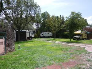 SM Allende campsite July 2013