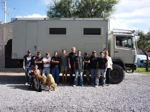 The team at Hammarlund Racing SM Allende August 2013