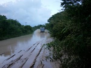 On our way to Sarteneja Belize November 2013
