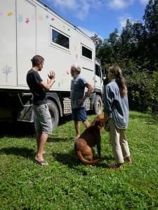 Saying goodbye to Bill and Cathy Barton Creek November 2013