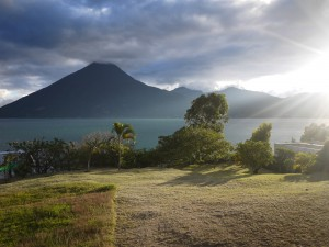 View from San Marcos, Lake Atitlan December 2013