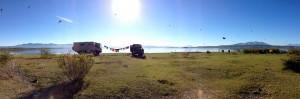Lake boondocking Chalatenango January 2014