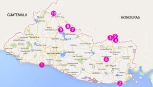 El Salvador Camp spots
