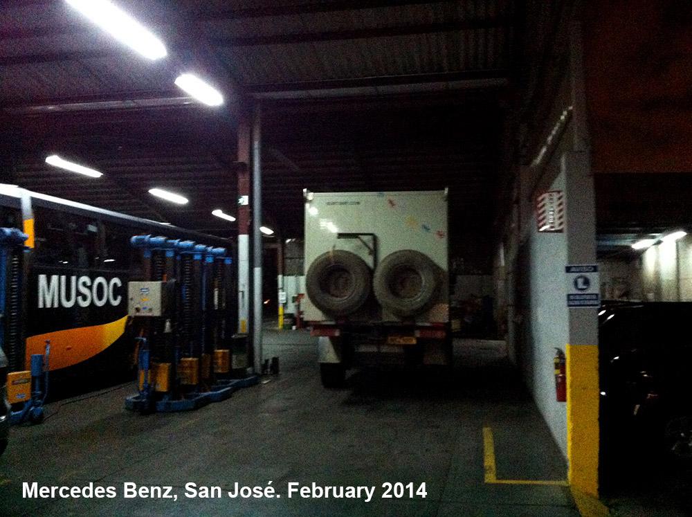 Costa rica campsites burtway for Mercedes benz of san jose