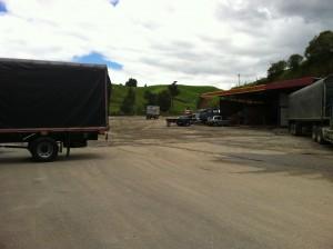 Truck stop near Santa Rosa