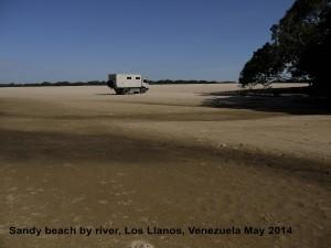 159 Sandy river beach