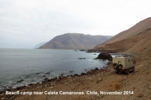 223 Caleta Camarones CHILE