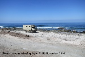 224 Beach camp Iquique CHILE